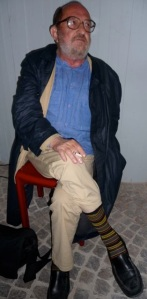 Il poeta Leonardo Zanier, carnico di Maranzanis, classe 1935, vive tra Roma e la Svizzera